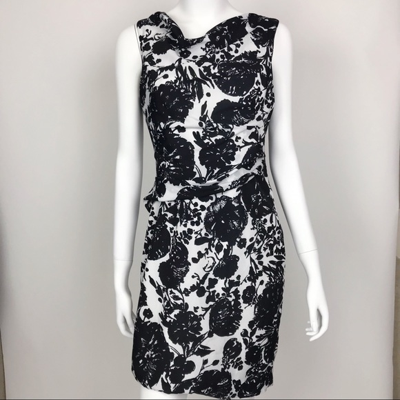 Ann Taylor Dresses & Skirts - Ann Taylor Black and White Floral Dress
